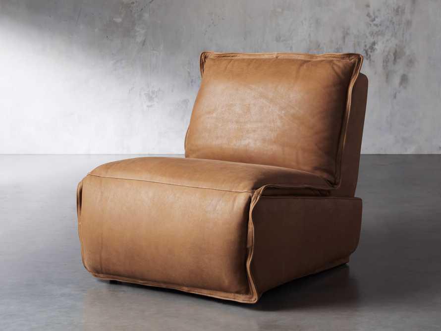 "Rowland Leather 34"" Motion Recliner in Burnham Camel, slide 3 of 12"