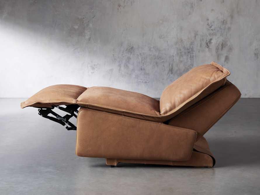 "Rowland Leather 34"" Motion Recliner in Burnham Camel, slide 7 of 12"