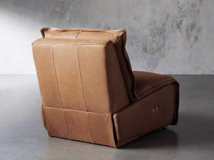 "Rowland Leather 34"" Motion Recliner in Burnham Camel, slide 5 of 12"