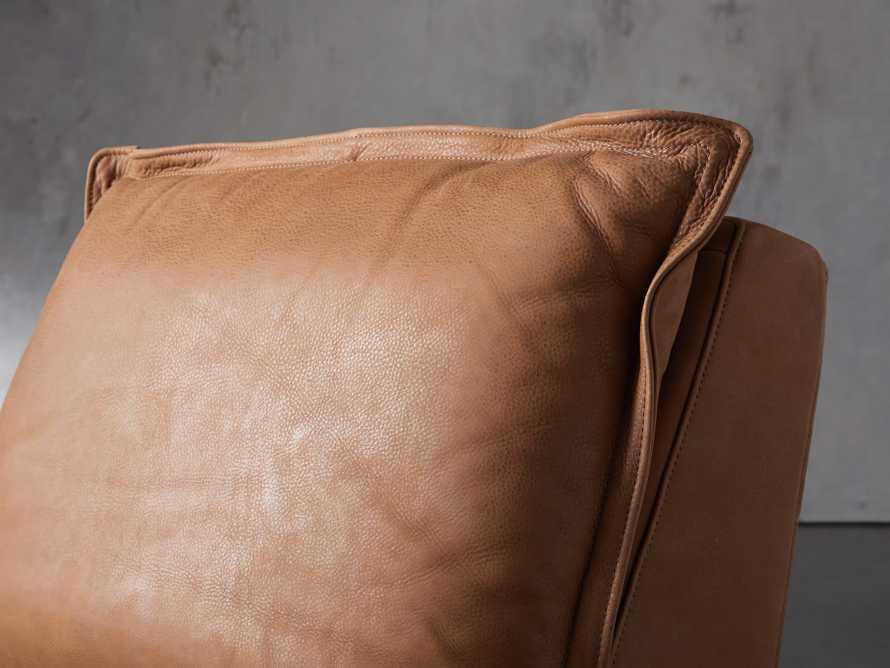 "Rowland Leather 34"" Motion Recliner in Burnham Camel, slide 6 of 12"