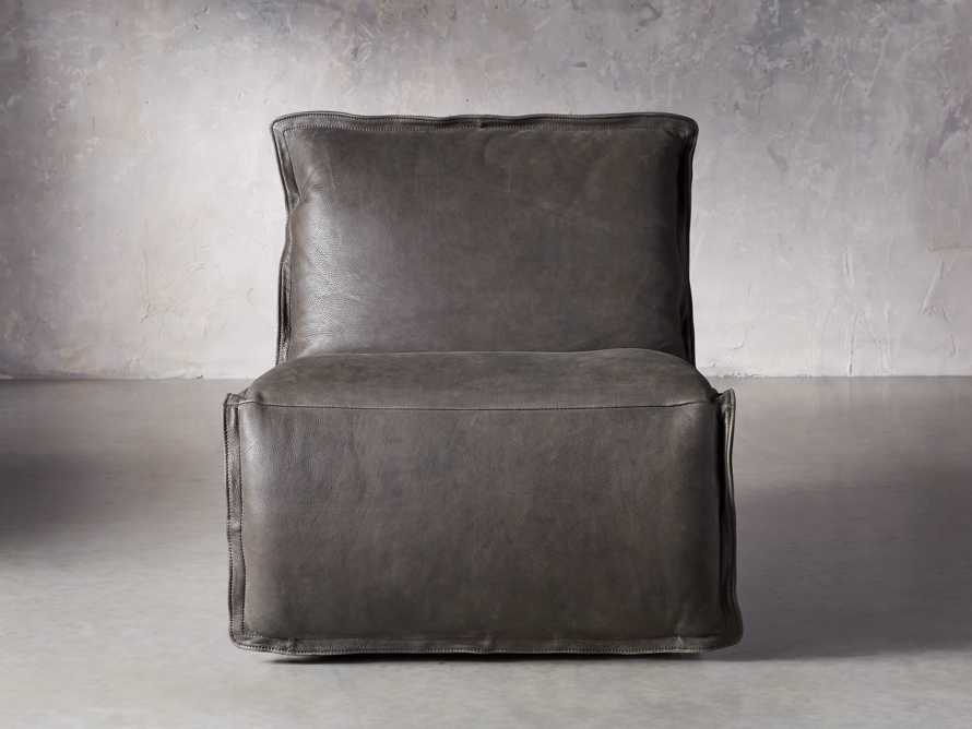 """Rowland Leather 43"""" Recliner, slide 1 of 12"""