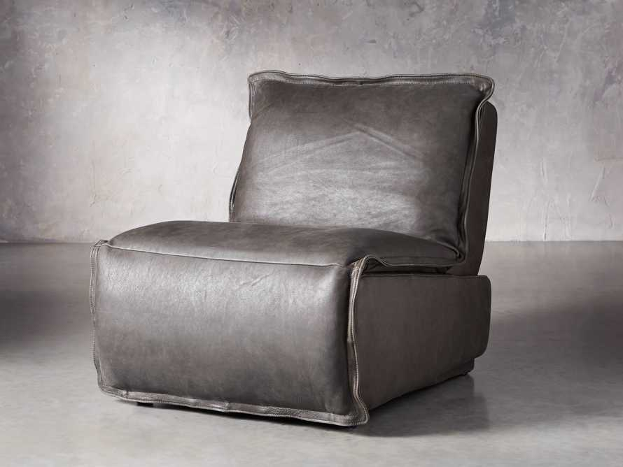 """Rowland Leather 43"""" Recliner, slide 2 of 12"""