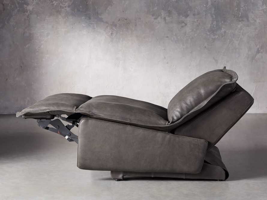 """Rowland Leather 43"""" Recliner, slide 4 of 12"""