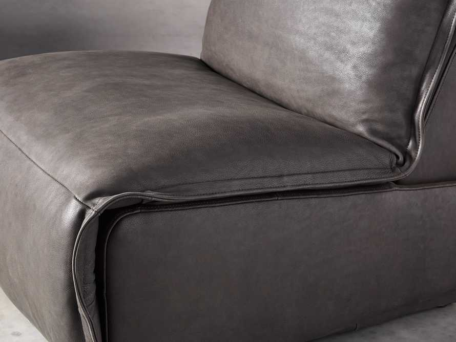 """Rowland Leather 43"""" Recliner, slide 6 of 12"""