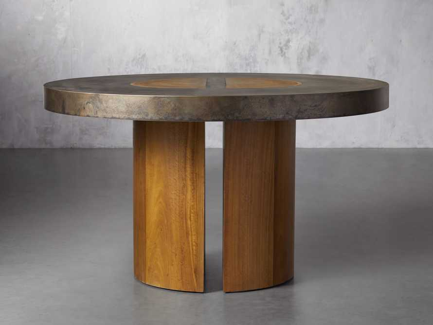 """Acacius 54"""" Round Dining Table, slide 1 of 5"""