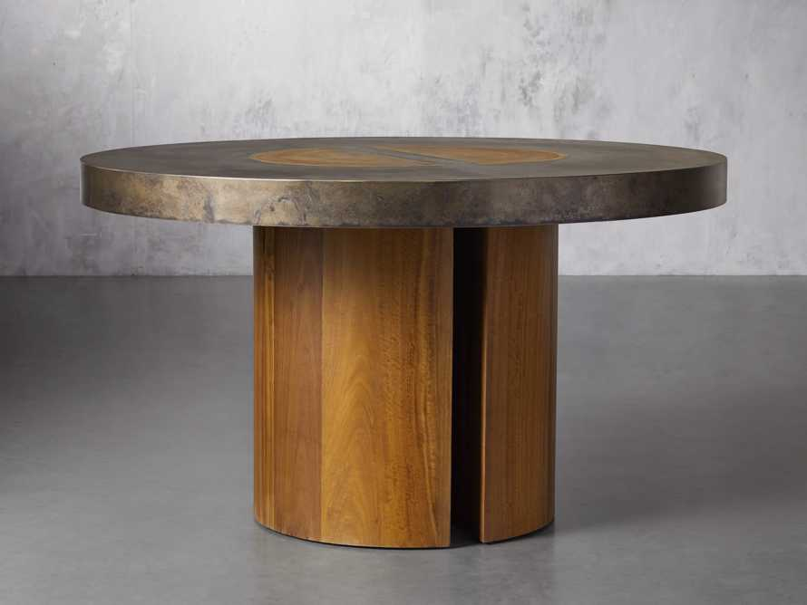 """Acacius 54"""" Round Dining Table, slide 2 of 5"""