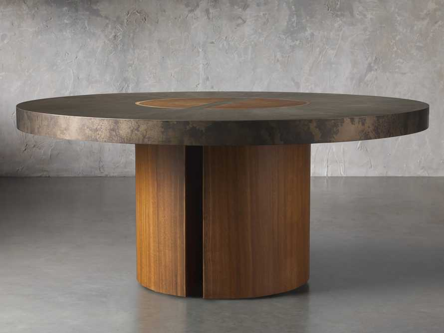 "Acacius 70"" Round Dining Table, slide 3 of 8"