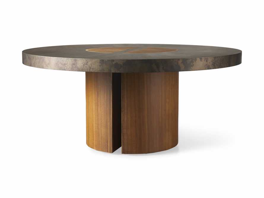 "Acacius 70"" Round Dining Table, slide 8 of 8"