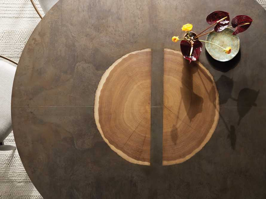"Acacius 70"" Round Dining Table, slide 4 of 8"
