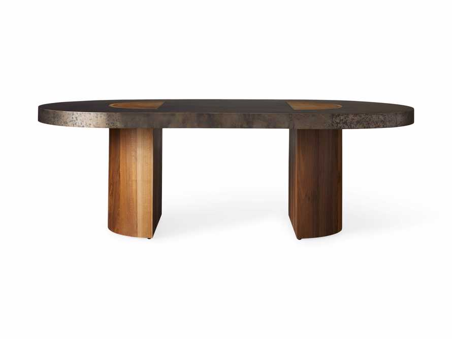 """Acacius 96"""" Oval Dining Table, slide 8 of 9"""