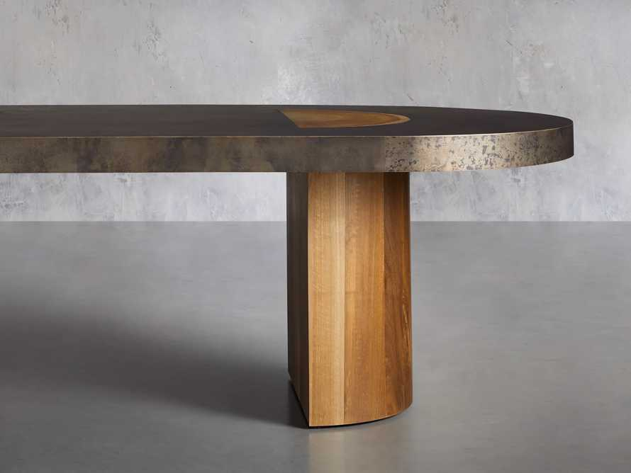 """Acacius 96"""" Oval Dining Table, slide 2 of 9"""