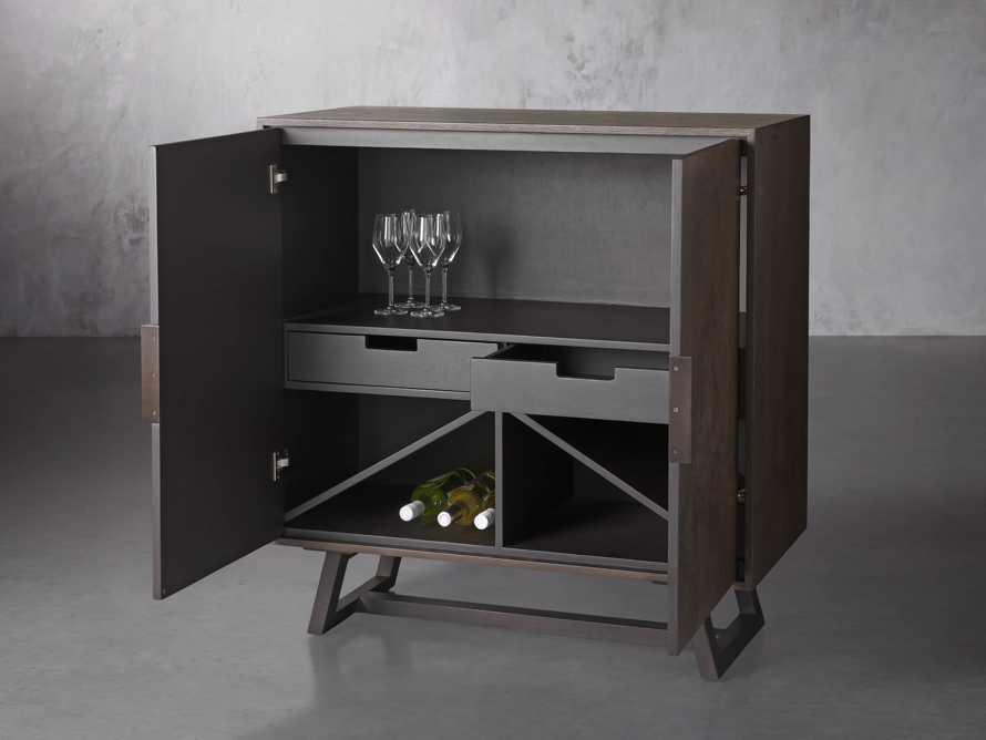 """Acero 40"""" Bar Cabinet, slide 4 of 7"""