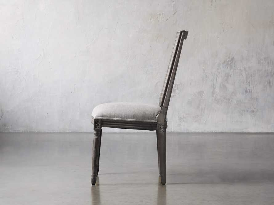 "Adele 23"" Cane Back Dining Side Chair in Stone Vintage, slide 3 of 8"