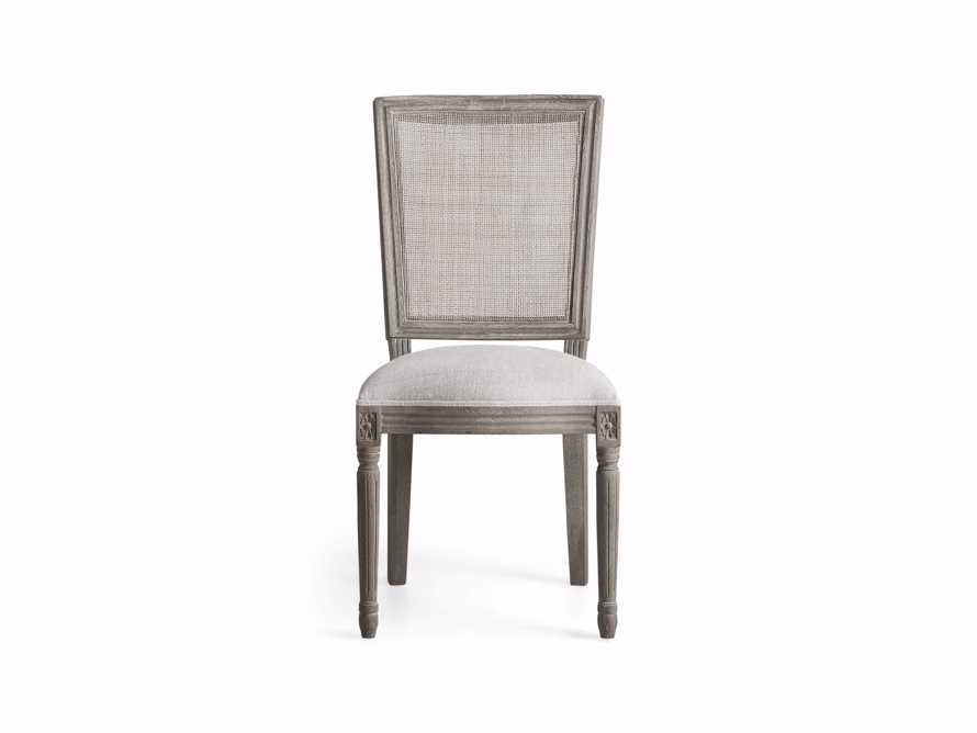 "Adele 23"" Cane Back Dining Side Chair in Stone Vintage, slide 7 of 8"