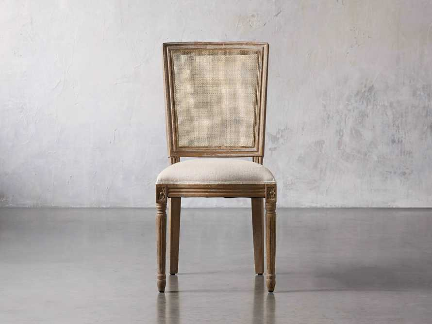 """Adele 23"""" Cane Back Dining Side Chair in Weathered, slide 1 of 8"""
