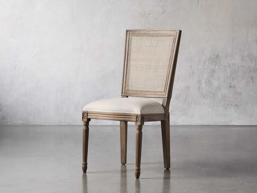 """Adele 23"""" Cane Back Dining Side Chair in Weathered, slide 2 of 8"""