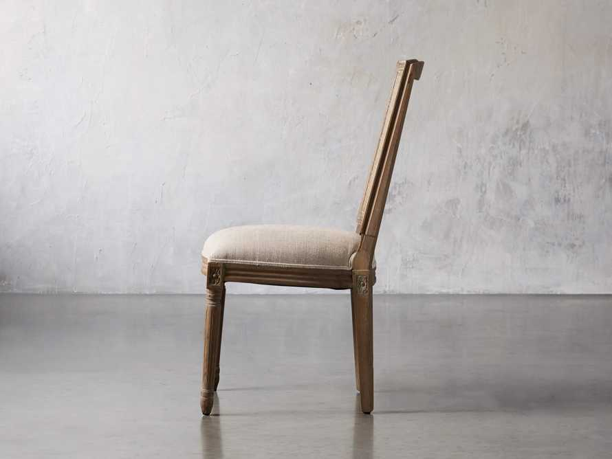"""Adele 23"""" Cane Back Dining Side Chair in Weathered, slide 3 of 8"""