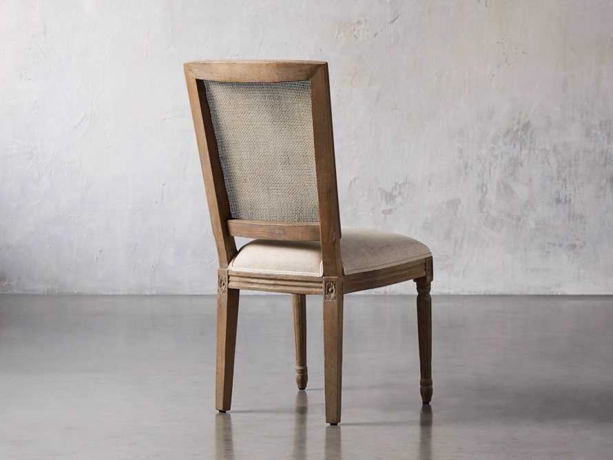"""Adele 23"""" Cane Back Dining Side Chair in Weathered, slide 4 of 8"""