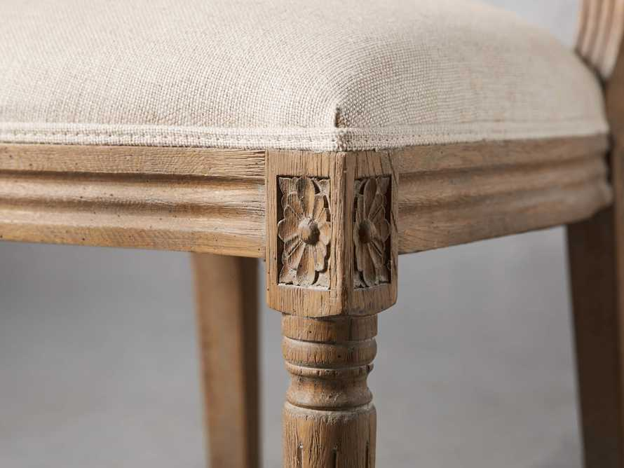 """Adele 23"""" Cane Back Dining Side Chair in Weathered, slide 6 of 8"""