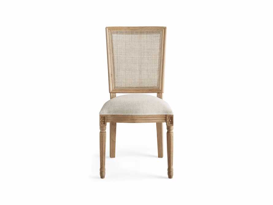 """Adele 23"""" Cane Back Dining Side Chair in Weathered, slide 7 of 8"""