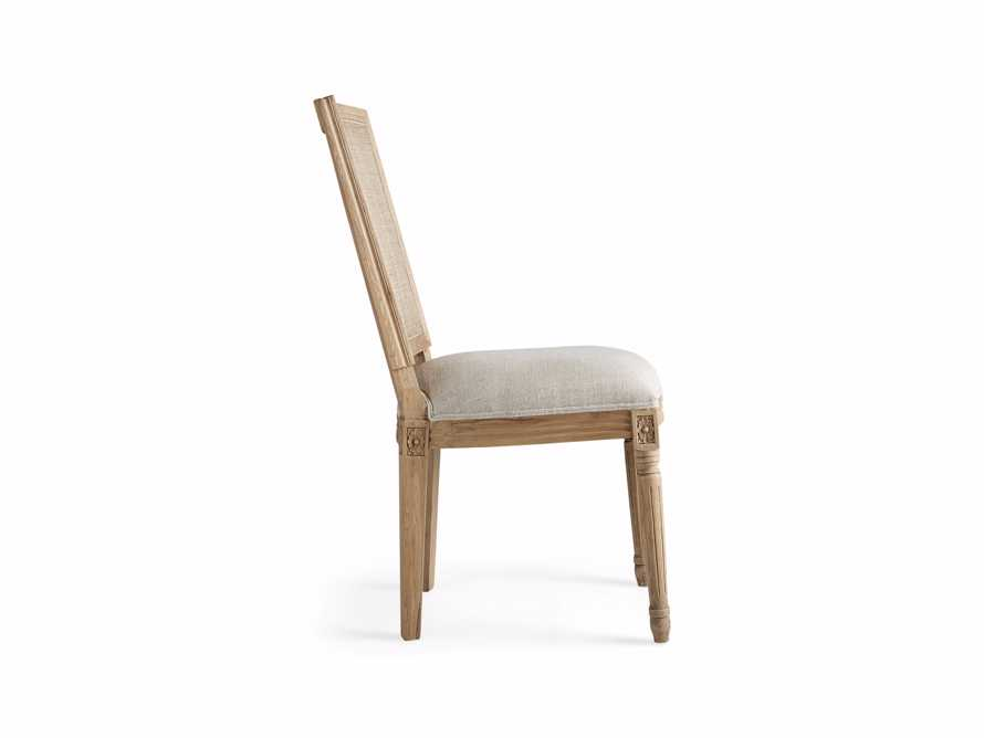 """Adele 23"""" Cane Back Dining Side Chair in Weathered, slide 8 of 8"""