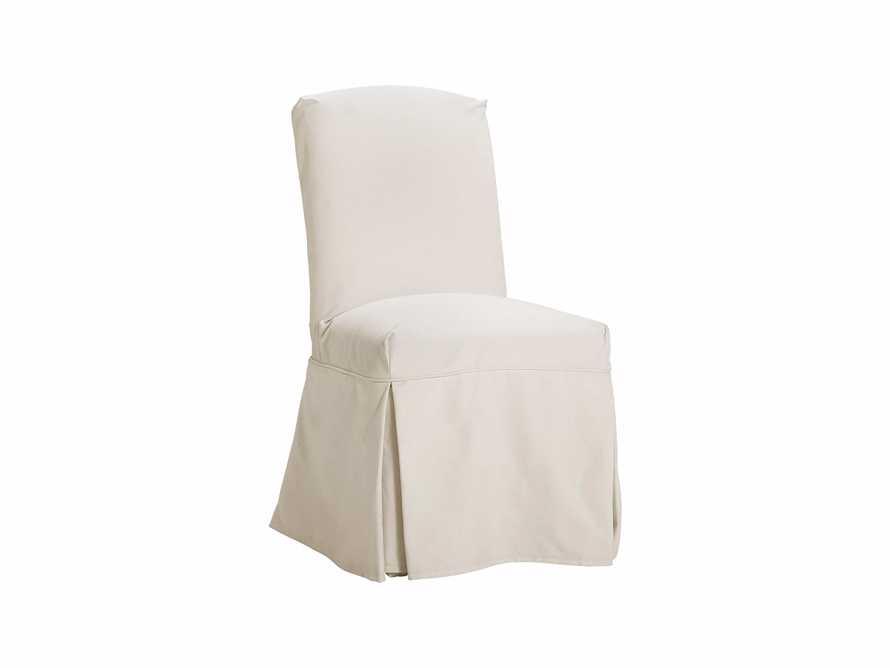 """Alaina Slipcovered 20"""" Dining Side Chair, slide 2 of 4"""