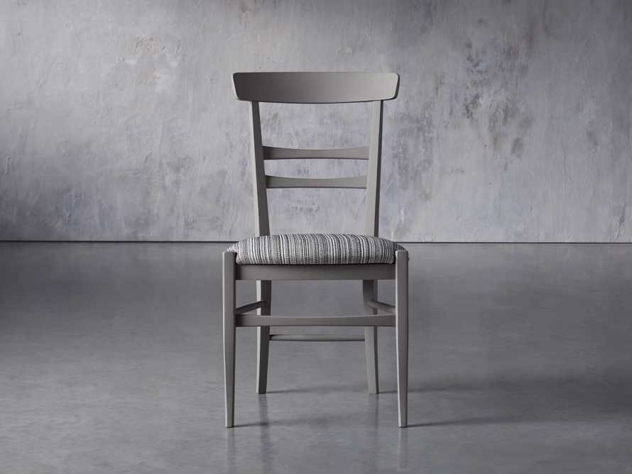 "Allora 19"" Dining Side Chair in Ombra Grey, slide 2 of 9"