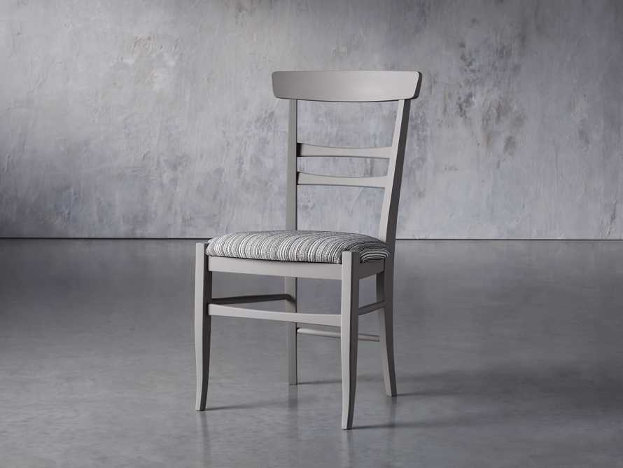 "Allora 19"" Dining Side Chair in Ombra Grey, slide 3 of 9"