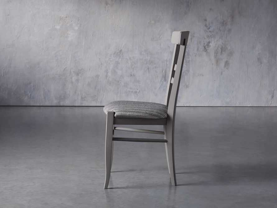 "Allora 19"" Dining Side Chair in Ombra Grey, slide 4 of 9"