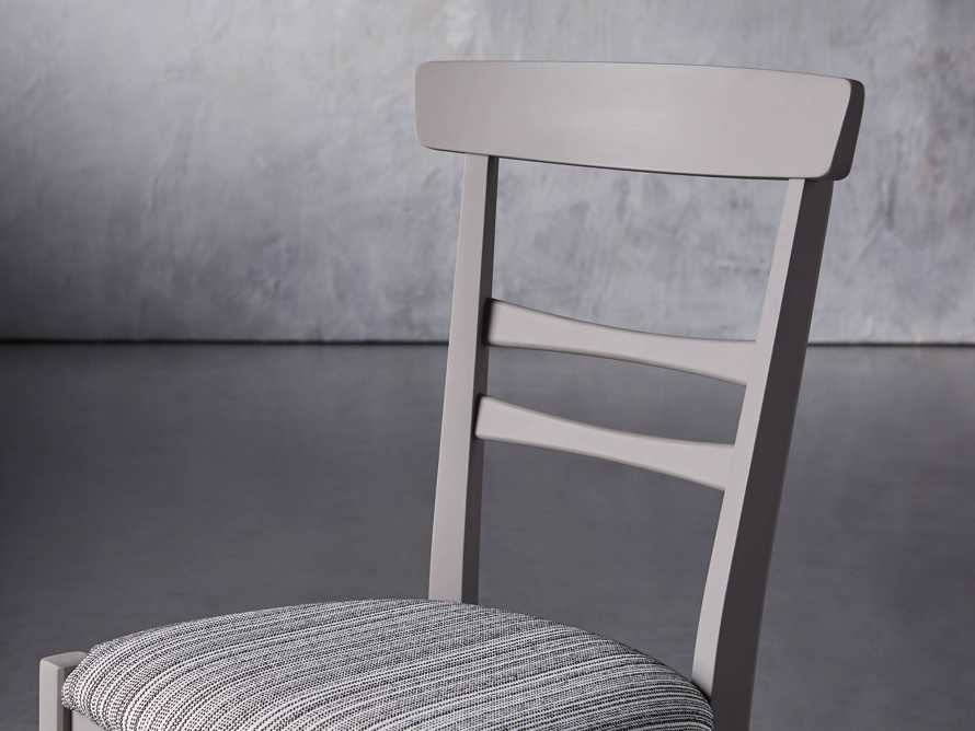 "Allora 19"" Dining Side Chair in Ombra Grey, slide 6 of 9"