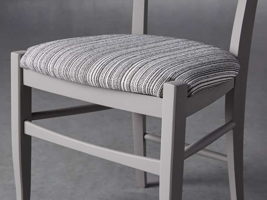 "Allora 19"" Dining Side Chair in Ombra Grey, slide 7 of 9"