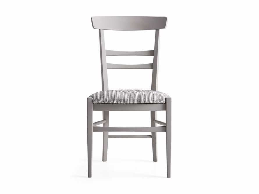 "Allora 19"" Dining Side Chair in Ombra Grey, slide 8 of 9"