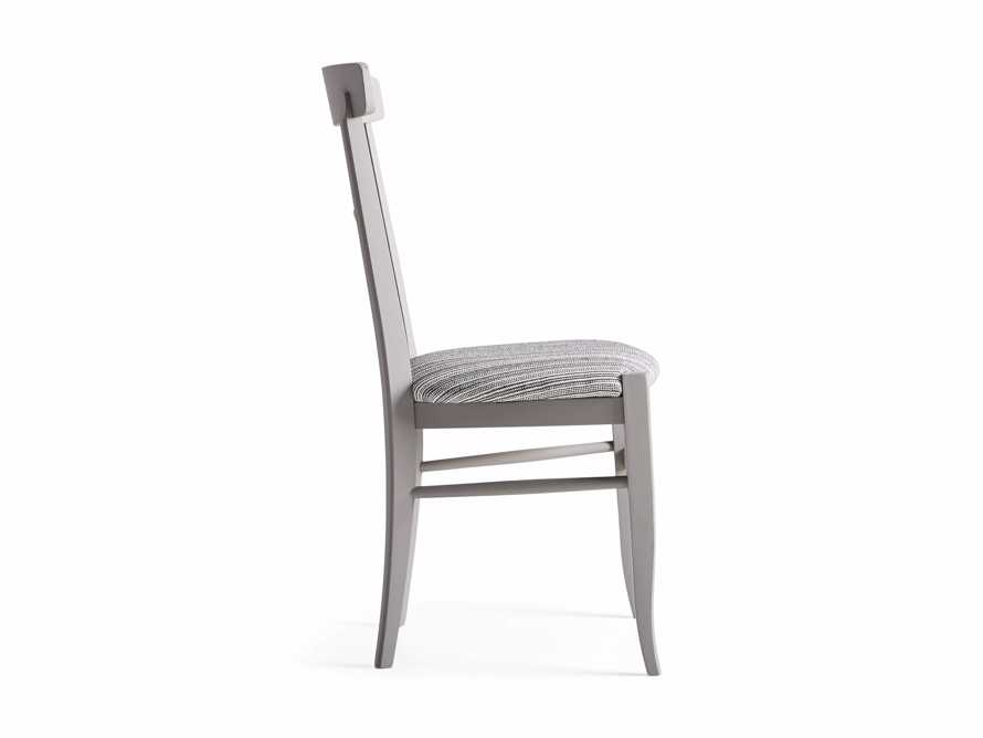 "Allora 19"" Dining Side Chair in Ombra Grey, slide 9 of 9"