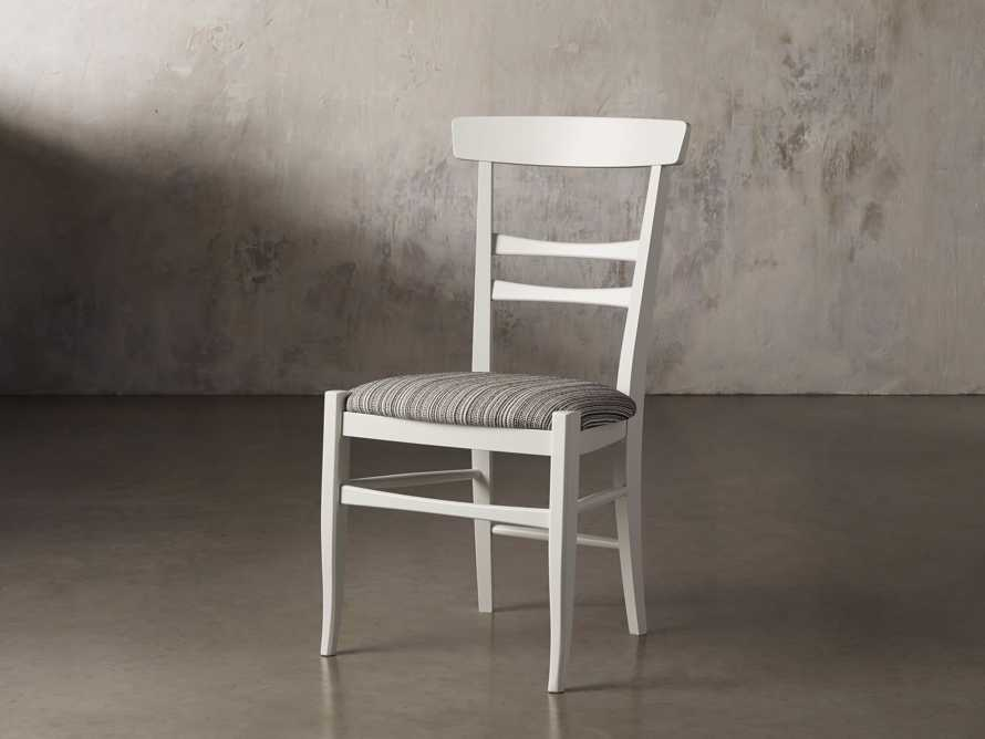 Allora Dining Chair in All White, slide 4 of 10
