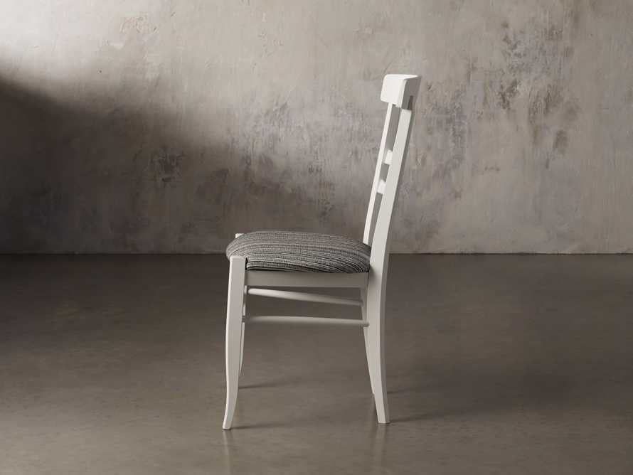 Allora Dining Chair in All White, slide 5 of 10