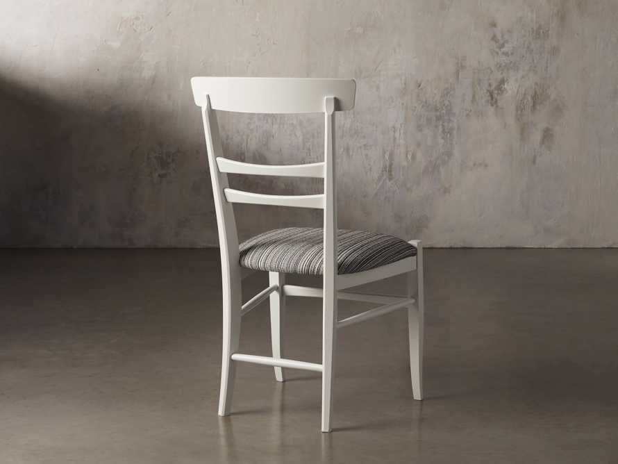 Allora Dining Chair in All White, slide 6 of 10
