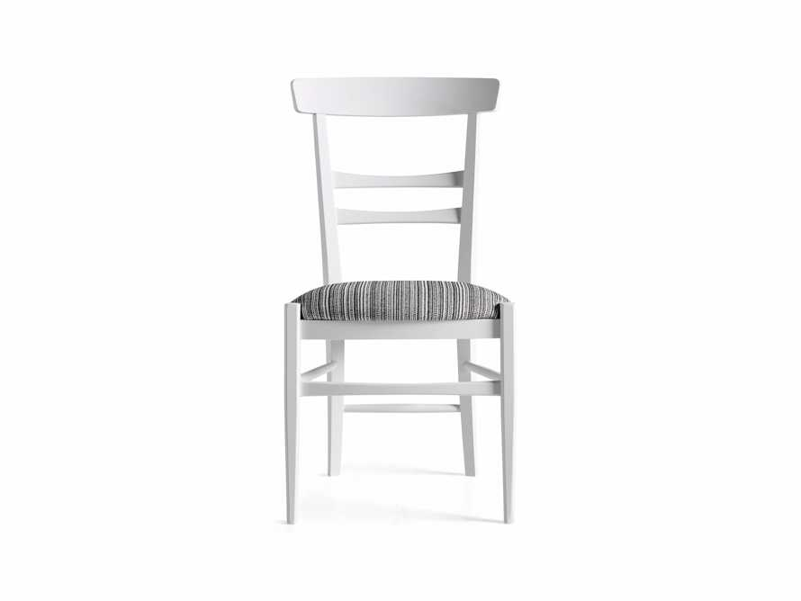Allora Dining Chair in All White, slide 9 of 10