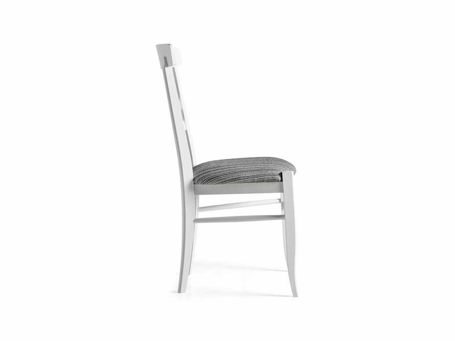 Allora Dining Chair in All White, slide 10 of 10
