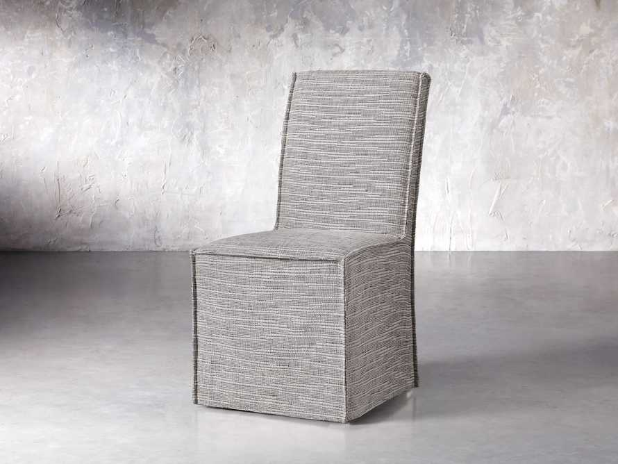 Alma Dining Side Chair in Tolbert Grey, slide 3 of 8