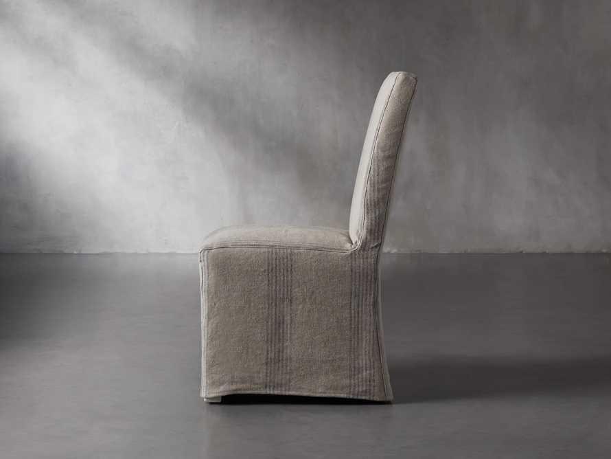 Alma Slipcovered Dining Side Chair, slide 4 of 11
