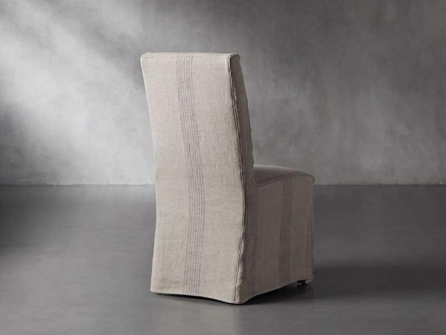 "Alma Slipcovered 20"" Dining Side Chair, slide 5 of 11"