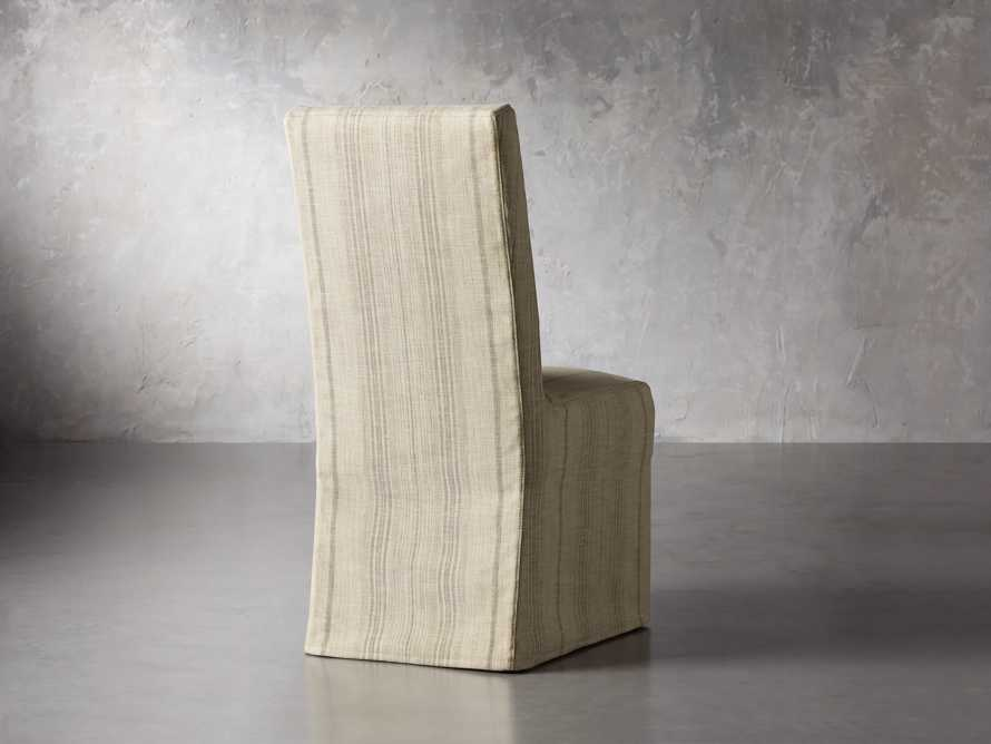 "Alma Slipcovered 20"" Dining Side Chair, slide 5 of 8"