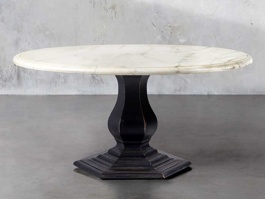 "Amalia 48"" Round Bell'Arte Dining Table, slide 1 of 5"