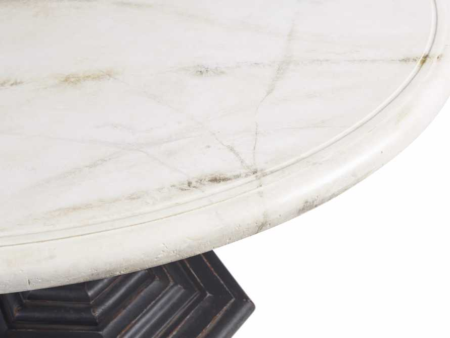 "Amalia 48"" Round Bell'Arte Dining Table, slide 5 of 5"