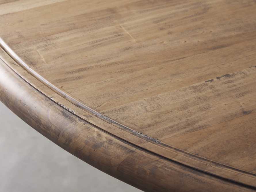 """Asolo 60"""" Round Dining Table in Blonde, slide 2 of 4"""