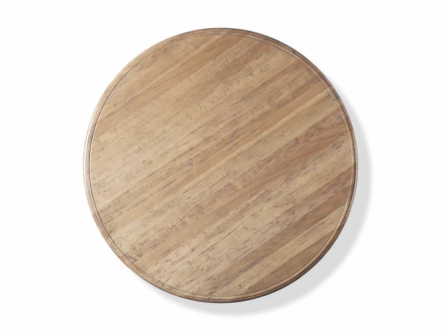 """Asolo 60"""" Round Dining Table in Blonde, slide 3 of 4"""