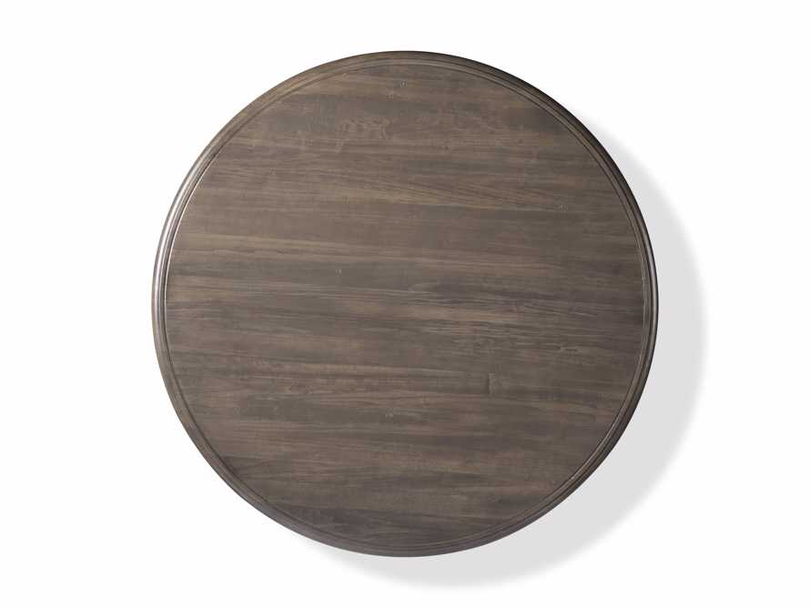 "Asolo 60"" Round Dining Table in porfido, slide 2 of 3"
