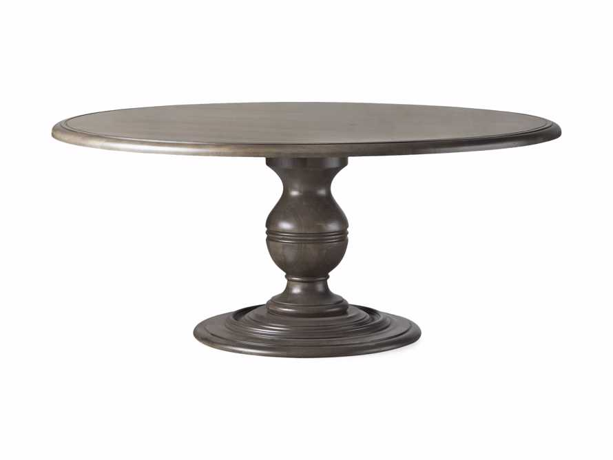 "Asolo 60"" Round Dining Table in porfido, slide 3 of 3"