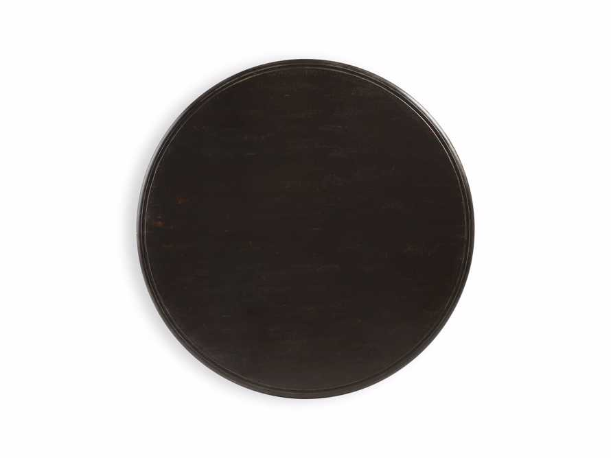 """Asolo 71"""" Worn Black Dining Table"""