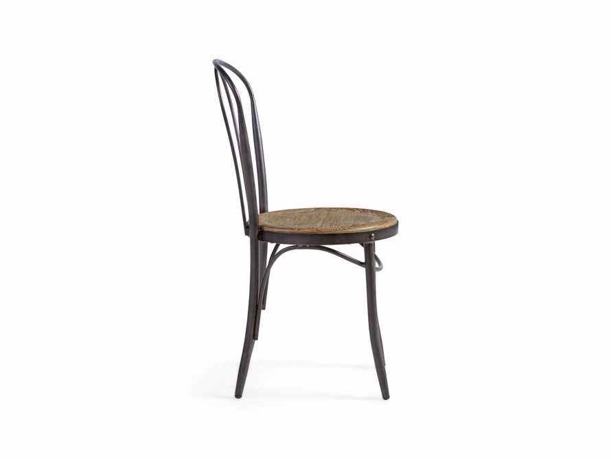 "Bistro 16"" Dining Side Chair in Light Burnt Oak"